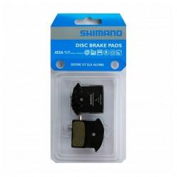 Brzdové desky Shimano J03A Y8Z298010, s chladičem, Resin, blistr