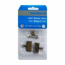 Brzdové desky Shimano G04TI Y8LW98010, Kovové, blistr