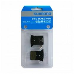 Brzdové desky Shimano L02A Y8N398030, s chladičem, Resin, blistr