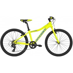 Kolo MAXBIKE Denali 24 2020 žlutý reflex + modrá - zelená