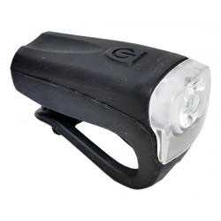 Světlo přední PROFIL JY-378FU silicon 3W USB černé nabíjecí