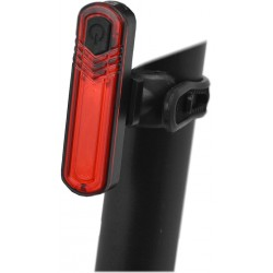 Blikačka zadní MAXBIKE JY-6056T, vysoce svítivá USB